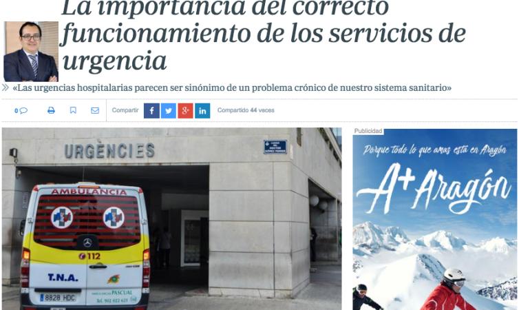 ABC: La importancia del correcto funcionamiento de los servicios de urgencia