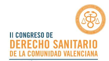 El II Congreso de Derecho Sanitario de la CV  propondrá soluciones viables  para reducir el  número de agresiones a profesionales sanitarios