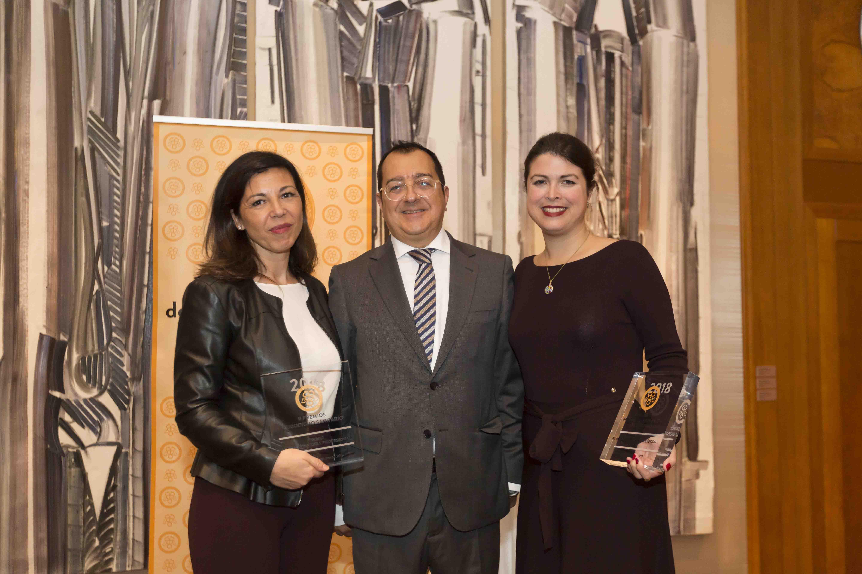 À PUNT: Xelo Gimeno i Kristin Suleng reben els Premis Periodisme Sanitari 2018