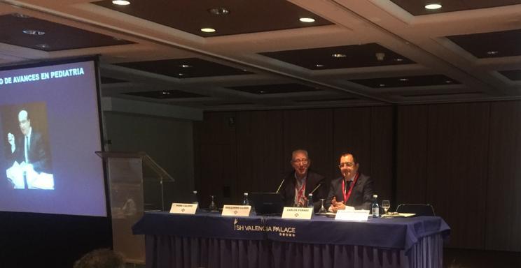 Carlos Fornes en el XXIV Curso de Avances en Pediatría