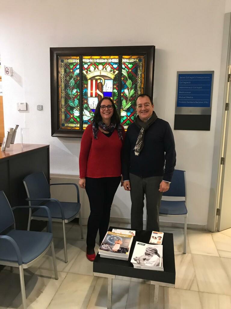 Reunión con la Presidenta del Colegio de Mëdicos de las Islas Baleares