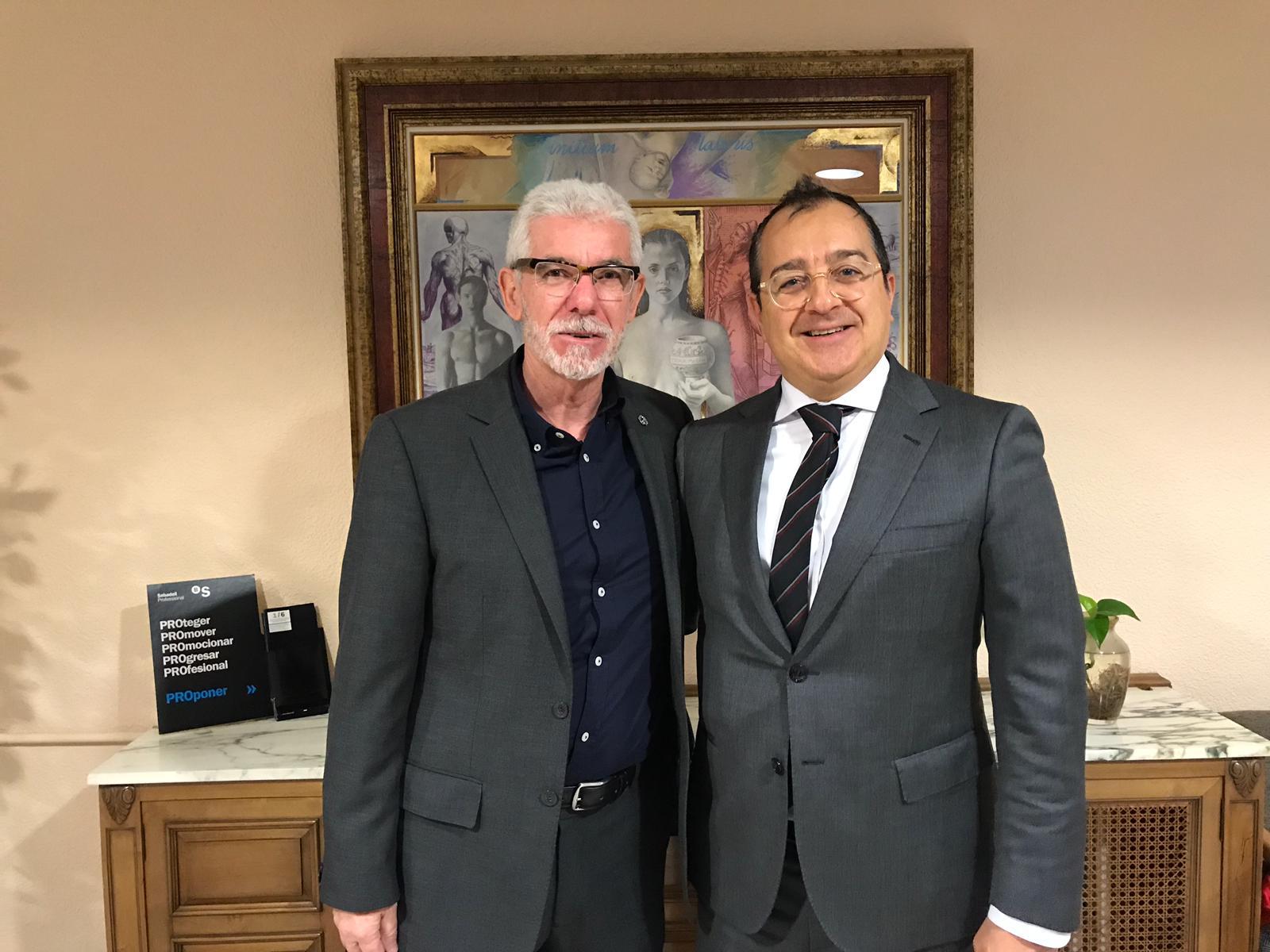 Carlos Fornes se reúne con el Presidente del Colegio de Médicos de Castellón