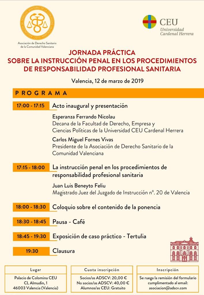 Programa Jornada 12-03-19 - ADSCV