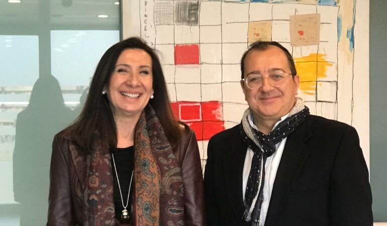Encuentro con la Decana del Colegio de Médicos de Valencia