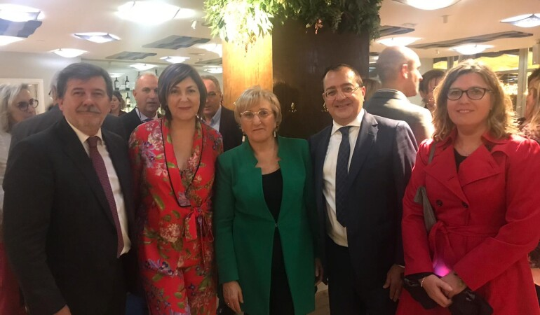 Carlos Fornes asiste a la Gala de la Salud UPSANA 2019