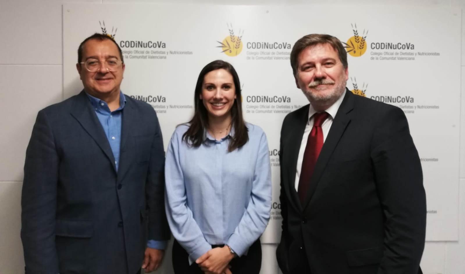 Carlos Fornes se reúne con la presidenta del Colegio de Dietistas-Nutricionistas de la Comunidad Valenciana