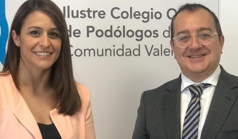 Fornes acuerda establecer líneas de colaboración con el Colegio Oficial de Podólogos de la CV