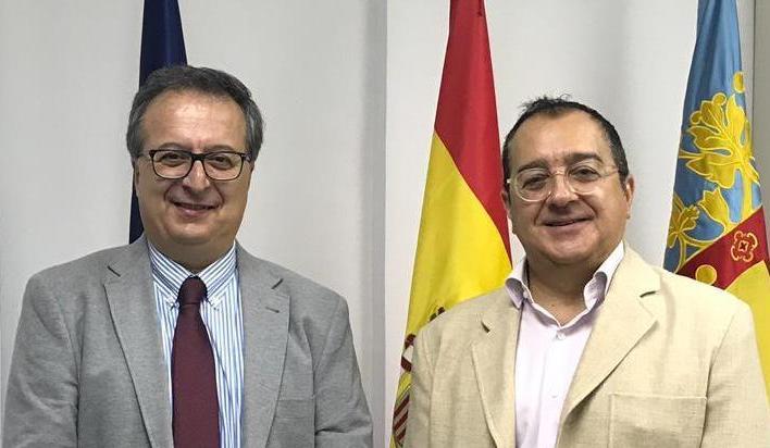 Carlos Fornes se reúne con el presidente del Colegio de Ópticos Optometristas de la CV