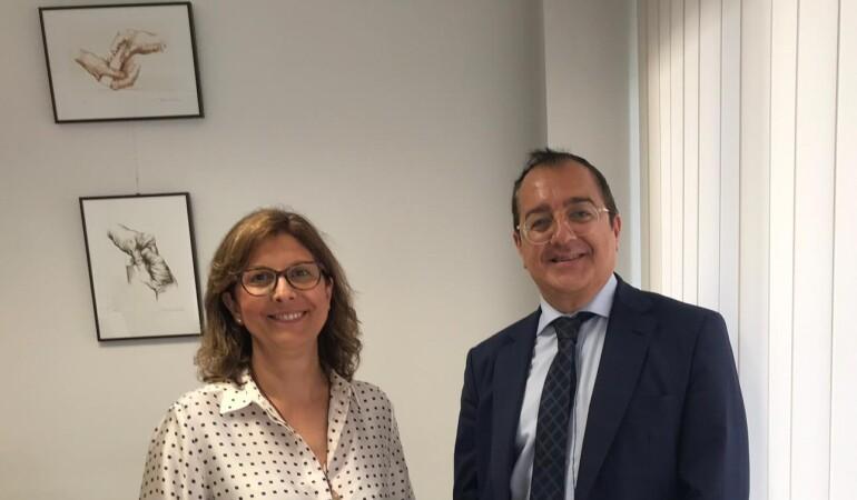 Fornes se reúne con la presidenta del Colegio Oficial de Enfermería de Alicante