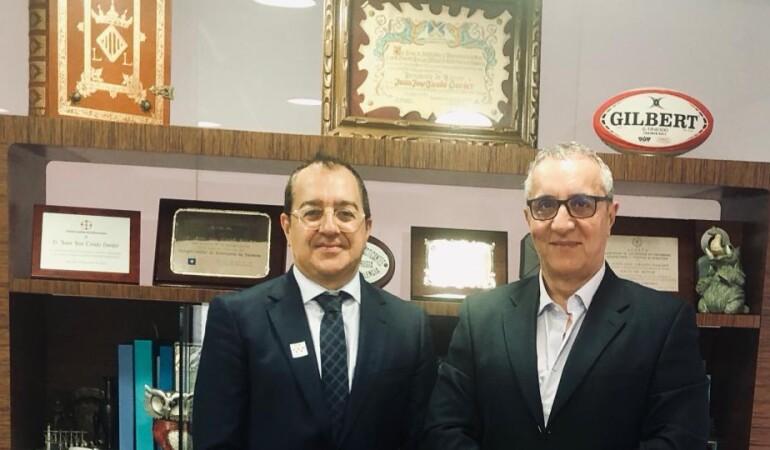 Fornes se reúne con el presidente del Colegio de Enfermería de Valencia