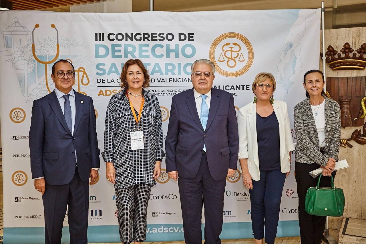 EL MUNDO: El presidente del Tribunal Constitucional clausura el III Congreso de la Asociación de Derecho Sanitario de la CV