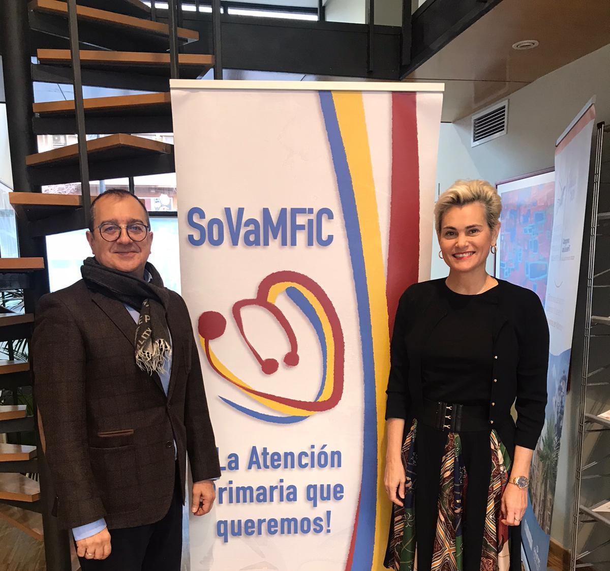 La ADSCV acuerda con la Sociedad Valenciana de Medicina Familiar y Comunitaria realizar jornadas formativas para sus afiliados