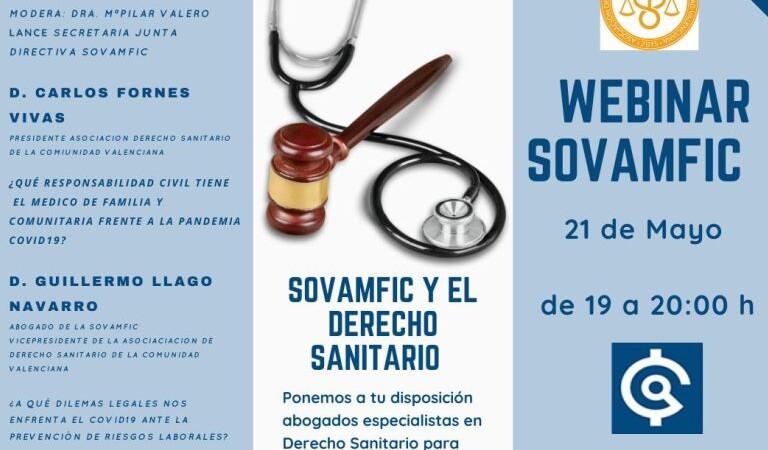Vea el webinar SOVAMFIC y Derecho Sanitario