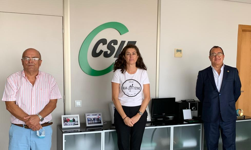 La ADSCV establece vías de colaboración con CSIF Comunidad Valenciana